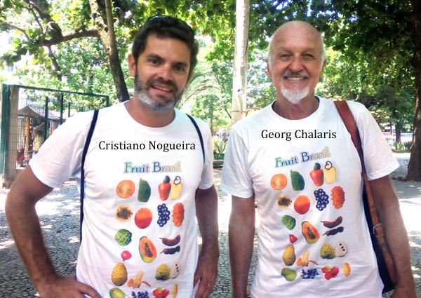 cris e georg, our  guides